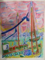 Honfleur, bateaux 1