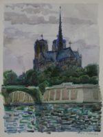 Le chevet de Notre-Dame