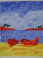 Les barques rouges