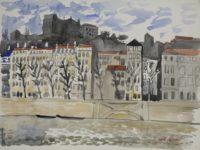 Lyon, quai de Saône