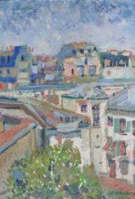 Paris, vue du 6 Marie Davy